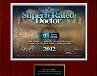Superb Rated Doctor 2012 - Dr. Brett Scotch