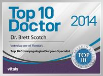 Top 10 Doctor 2014 - Dr. Brett Scotch